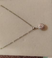NOVO srebrna ogrlica