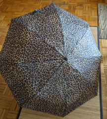 Kišobran sklapajući sa LEOPARD printom