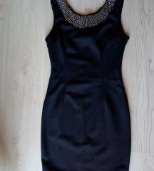 Crna elegantna haljina SNIZENO