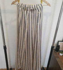 H&M svilenkaste palazzo pantalone SADA 1000
