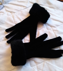 NOVE rukavice sa krznom