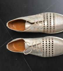 Oksfordice metalik kozne cipele NOVE