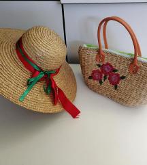 pletana torba i sesir