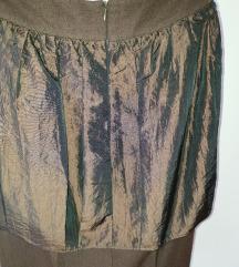 P.S suknja, braon
