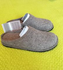 Sobne filcane papuče
