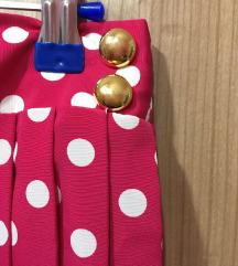 Vintage midi suknjica, NOVO iz Swiss L/XL