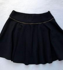 Crna svecana suknja