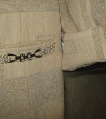 MONA ekskluzivni sako boje zlata 42(manji je)-NOVO