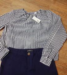 NOVO SA ETIKETOM, H&M bluzica na pruge! 34 i 38