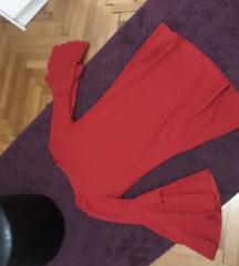 Crvena haljina snizena