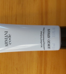 Armani Code body lotion Novo