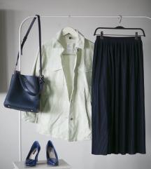 Mint baggy somotska kosulja/ jakna, vel. XS