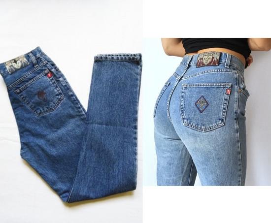 Joop mom jeans (duboki struk)
