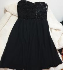 Mala crna haljina uni velicina NOVO