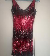 %%Mini haljina šljokice XS/S