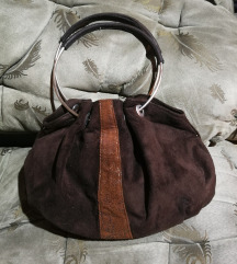 Unikatna braon torbica
