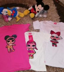 LOL Svetleće majice za devojcice vel od 4 do 14