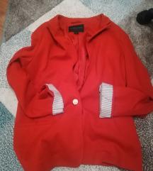 Crveni, divan sako