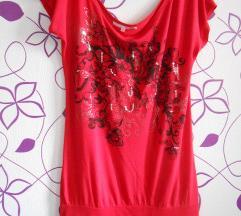 Tally weijl crvena majica tunika