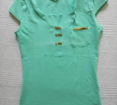 *SALE* Pastelno zelena majica kratkih rukava