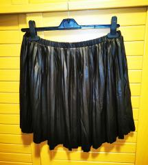 Terranova kozna suknja