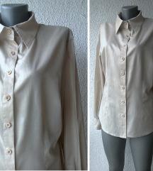 košulja drap sjajna pamučna br 44 ili 46