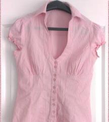 TRN roze prugasta kosuljica