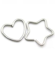 Pirsing zvezdica/srce od hiruskog celika
