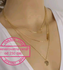 Ogrlice SAMO 250 din.