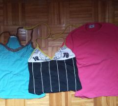 3 majice M velicine