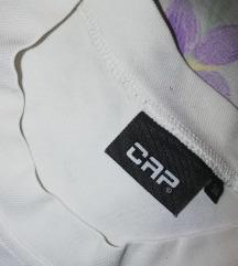 Cap bela sportska majca