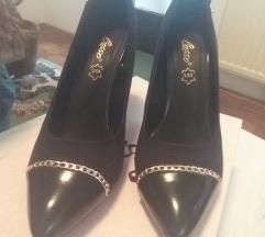 Lusso crne cipele 38