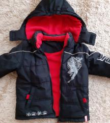 Odlicna Spajdrmen jaknica za oko 3,5 god - snizeno
