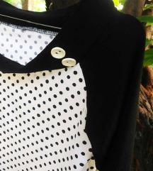 Vintage kvalitetna bluza S/M