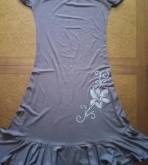 Braon haljina vel.M