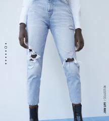 Zara Mom Fit Jeans,Novoo!!Ne razmenjujem