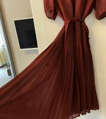 Prelepa Plisirana haljina