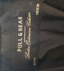 Pull&Bear crni kaput