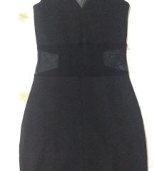 New Yorker crna elastična haljina