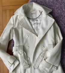 Orsay beli kaput kratak