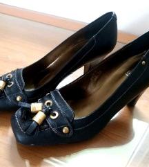 100e kozne cipele 41 crne Lodi Made in Spain NOVO