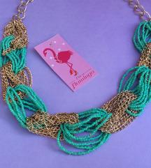 Flamingos mint ogrlica
