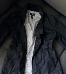 H&M crna tanja sako-jaknica, vel s-m