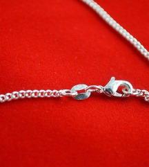 Ogrlica lanac zig 925 NOVO