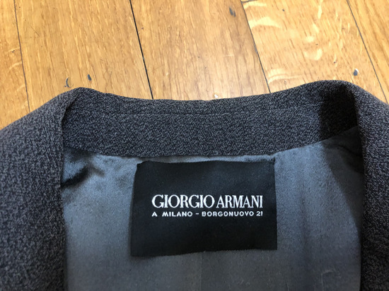 Giorgio Armani original!