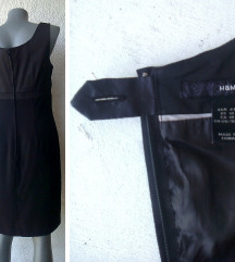 crna kratka haljina broj 38 H&M