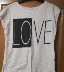Bela majica LOVE