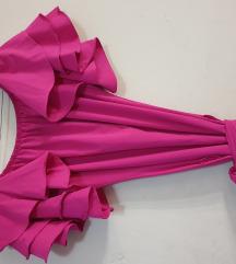 Prelepa nova roze haljina