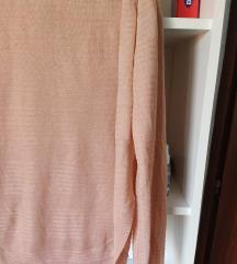 Only roze dzemper bluza
