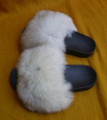 Papuče sa pravim krznom